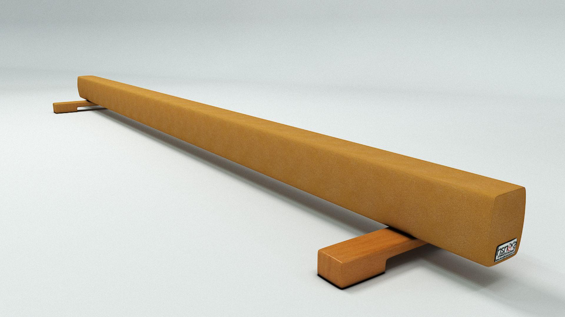 AHŞAP DENGE DERİ KAPLAMALI 3metre  yer dengesi